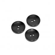 Gumb, klasični, črna, 12mm, 20449-002