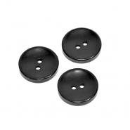 Gumb, klasični, črna, 21mm, 20451-002