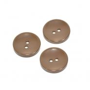 Gumb, klasičan, smeđa, 21 mm, 20451-024