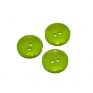 Gumb, klasičan, zelena, 15 mm, 20450-010