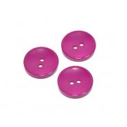 Knopf, klassisch, rosa, 15mm, 20450-007