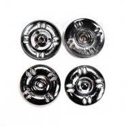 Pritiškači, prišivni, 25mm, 20453-105, črna