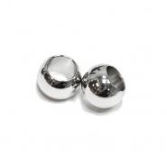 Zaključek za vrvico, kovinski, 10mm, 20457-101, srebrna