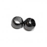 Zaključek za vrvico, kovinski, 10mm, 20457-105, črna