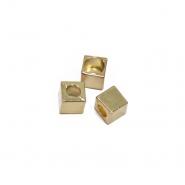Završetak za nit, metalni, 5 mm, 20458-100, zlatna