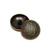 Gumb, metalni, bombica, 23 mm, 20462-2108, staro zlato