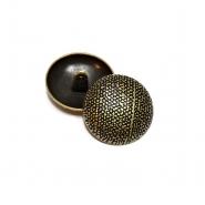 Gumb, metalni, bombica, 18 mm, 20461-2108, staro zlato