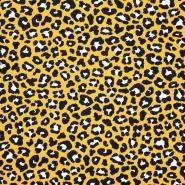 Jersey, Baumwolle, tierisch,  20598-08, gelb