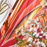 Gewebe, Viskose, floral, 20657