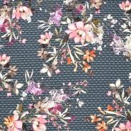Jersey, Viskose, floral, 20644