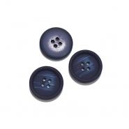 Knopf, für Anzüge, 15 mm, 20470-020, dunkelblau