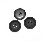Knopf. für Anzüge, 20 mm, 20471-002, schwarz