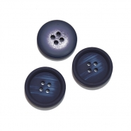 Knopf, für Anzüge, 25 mm, 20472-020, dunkelblau