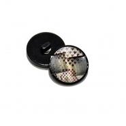 Gumb, modni, 18 mm, 20473-001
