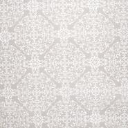 Dekostoff, Druck, imprägniert, Ornament, 20700