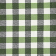 Dekostoff, Karo, 20707-2, grün