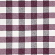 Dekostoff, Karo, 20707-3, violett