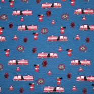 Jersey, pamuk, dječji, 19863-59, plava