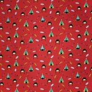 Jersey, pamuk, dječji, 20716-381, crvena
