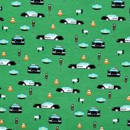 Jersey, pamuk, dječji, 20717-234, zelena