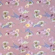 Sweatshirtstoff, flauschig, 20728-4723, rosa