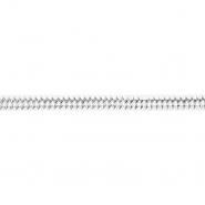 Band, dekorativ, 20748-101, silbern