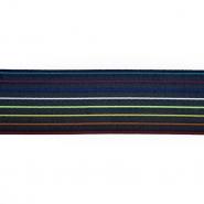 Elastikband, dekorativ, Streifen, 50 mm, 20749-099