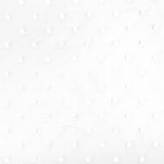 Tüll, weich, Punkte, 20732-1, weiß