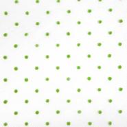 Tüll, weich, Punkte, 20732-4, grün