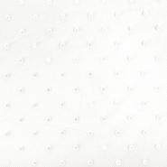 Tüll, weich, Punkte, 20732-2, cremefarbig