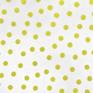 Tüll, weich, Punkte, 20734-2, gelb - Bema Stoffe
