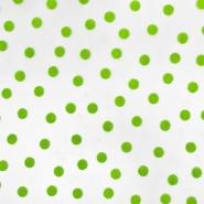 Tüll, weich, Punkte, 20734-3, grün