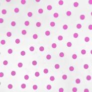 Tüll, weich, Punkte, 20734-10, rosa - Bema Stoffe