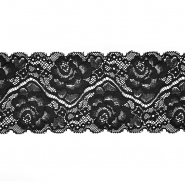 Spitze, elastisch, 90 mm, 20482-002, schwarz