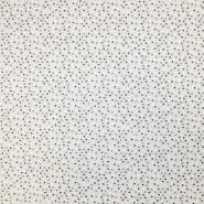 Deko, tisak, impregniran, točke, 18277-6216, plava