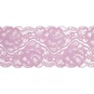 Spitze, elastisch, 90 mm, 20482-055, rosa