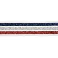 Elastik, 40 mm, Streifen, 20489-1001