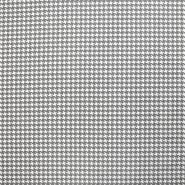 Baumwolle, Popeline, Pepita, 20835-1, grau