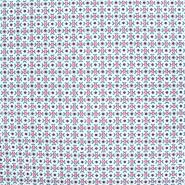 Pamuk, popelin, geometrijski, 20781-1, ružičasta