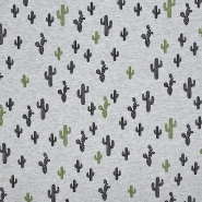 Sweatshirtstoff, 20766-1, grau