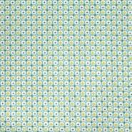 Pamuk, popelin, geometrijski, 20790-1, zelena