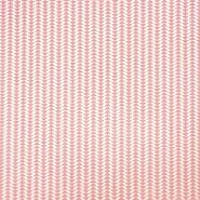Pamuk, popelin, geometrijski, 20795-2, koraljna