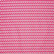 Pamuk, popelin, geometrijski, 20812-1, ružičasta
