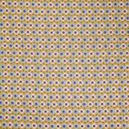 Pamuk, popelin, geometrijski, 20812-2, oker