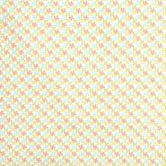 Pamuk, popelin, geometrijski, 20818-2, žuta