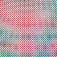 Bombaž, poplin, pike, 20820-1, roza