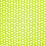 Bombaž, poplin, zvezde, 20825-1, svetlo zelena
