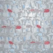 Sweatshirtstoff, 20933-5002, grau