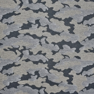 Sweatshirtstoff, flauschig, 20938-0803, grau