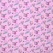 Jersey, Baumwolle, für Kinder, 20899-3005, rosa - Bema Stoffe